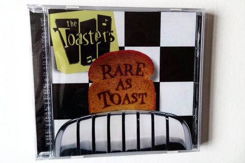 THE TOASTERS rare as toast CD - Savage Amusement