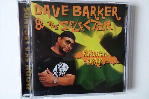 DAVE BARKER & THE SELECTER kingston affair CD - Savage Amusement