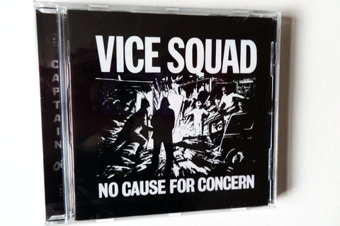 VICE SQUAD no cause for concern CD - Savage Amusement