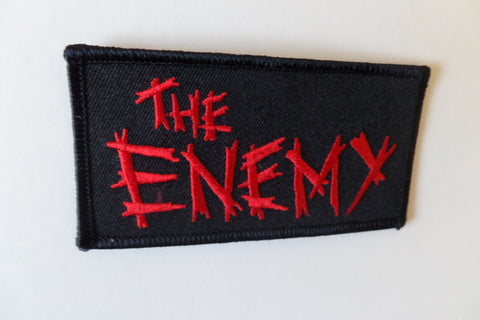 THE ENEMY embroidered oi! punk PATCH