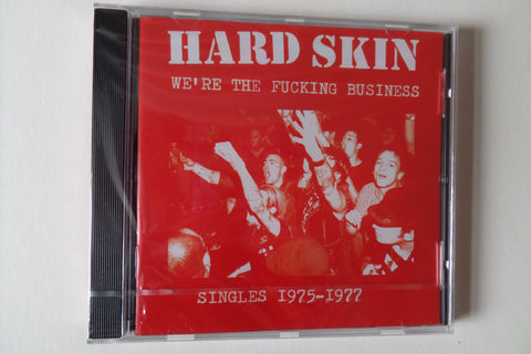 HARD SKIN we're the fucking business CD - Savage Amusement