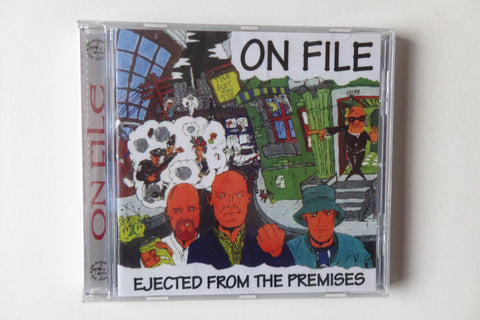 ON FILE ejected from the premises CD - Savage Amusement