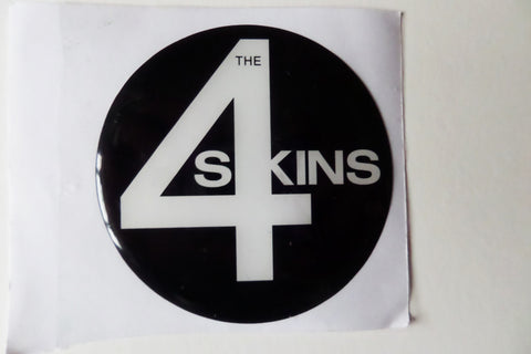 4SKINS oi! punk PADDED VINYL STICKER - Savage Amusement