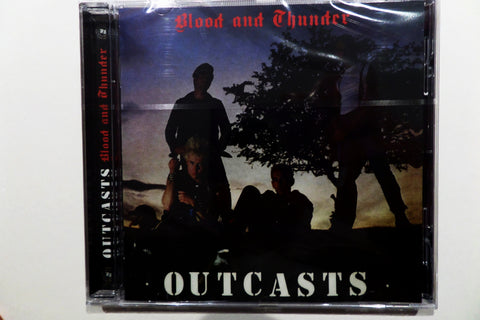 THE OUTCASTS blood & thunder CD - Savage Amusement