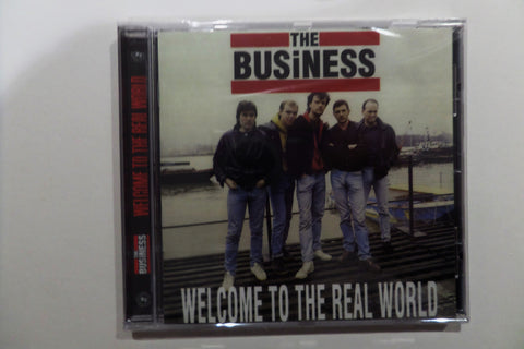 THE BUSINESS welcome to the real world CD - Savage Amusement
