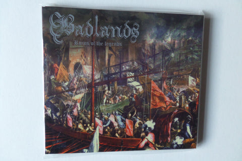 BADLANDS ruins of the legends CD - Savage Amusement