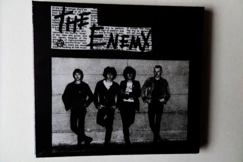 THE ENEMY s/t CD digipak - few only!