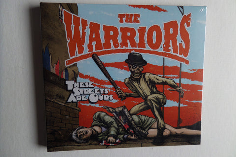 THE WARRIORS these streets are ours CD digipak Oi! skinhead - Savage Amusement