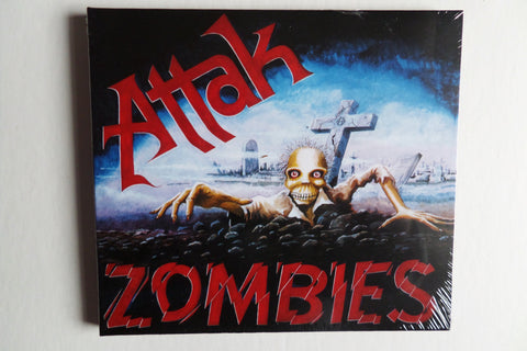 ATTAK zombies CD digipak - Savage Amusement