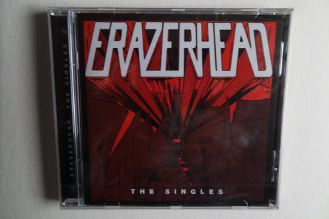 ERAZERHEAD the singles CD - few only! - Savage Amusement