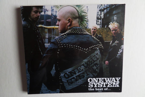 ONE WAY SYSTEM the best of CD digipak - few only!