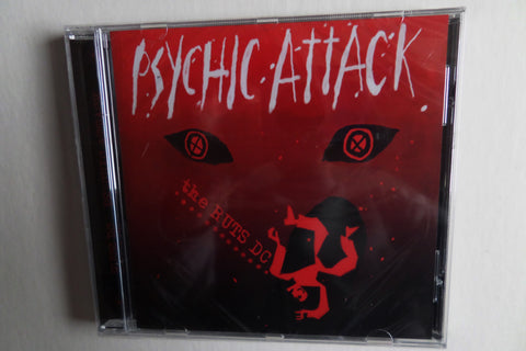 THE RUTS psychic attack CDEP