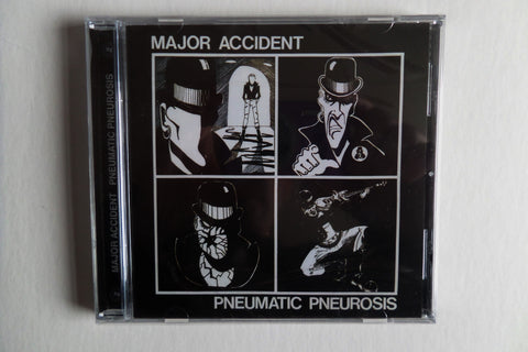 MAJOR ACCIDENT pneumatic pneurosis CD - one only! - Savage Amusement