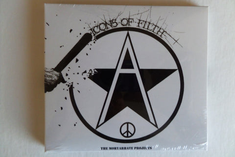 ICONS OF FILTH the mortarhate projects CD DIGIPAK - Savage Amusement