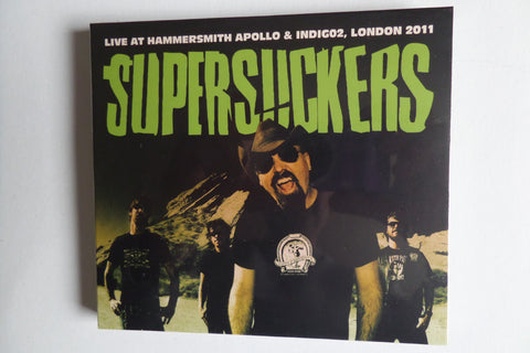 SUPERSUCKERS live at hammersmith apollo & indigo2 DBLE CD digipak