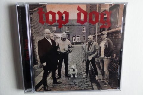 TOP DOG s/t CD UK80s style oi! ex Distortion - Savage Amusement