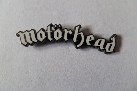 MOTORHEAD large logo PUNK METAL BADGE - Savage Amusement