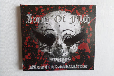 ICONS OF FILTH nostradamnedus CD digipak SALE!!! - Savage Amusement