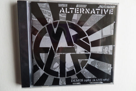 ALTERNATIVE demos 1982 / live 1983 CD anarcho punk - Savage Amusement