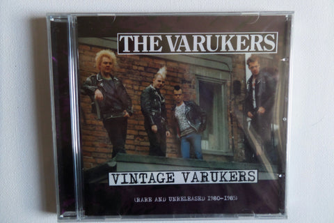 VARUKERS vintage varukers CD (early rare stuff)