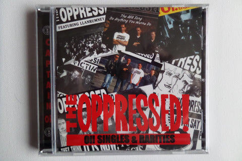 THE OPPRESSED oi! singles & rarities CD - Savage Amusement