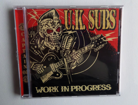 UK SUBS work in progress CD - Savage Amusement