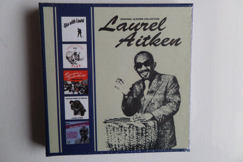 LAUREL AITKEN the original albums collection 5 CD BOX SET ska - Savage Amusement