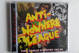 ANTI NOWHERE LEAGUE punk singles & rarities CD - Savage Amusement