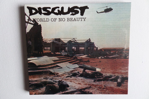 DISGUST a world of no beauty CD digipak (CRUST/D BEAT) - Savage Amusement