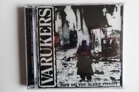 THE VARUKERS how do you sleep? CD - Savage Amusement