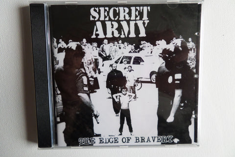 SECRET ARMY the edge of bravery CD CONTRA RECS OI! SALE!!!! - Savage Amusement