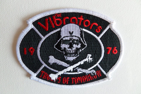 THE VIBRATORS embroidered oi! punk PATCH - Savage Amusement