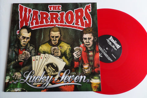 THE WARRIORS lucky seven LP (no insert) - Savage Amusement