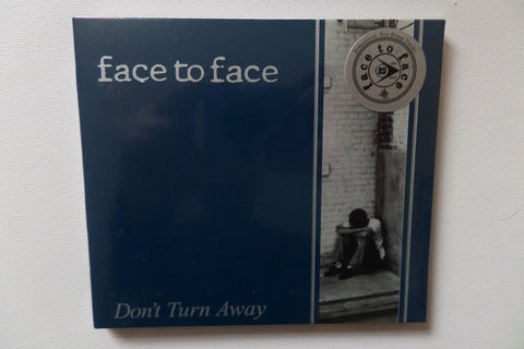 FACE TO FACE don't turn away CD digipak (with 2 extra tracks) - Savage Amusement