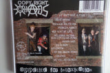 COPYRIGHT CHAOS appetite for intoxication CD (USA chaos punk) SALE - Savage Amusement