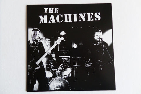 "THE MACHINES s/t 7"" (import) new EP from UK KBD punk band - Savage Amusement"