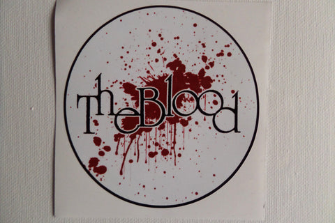 THE BLOOD large vinyl STICKER - Savage Amusement