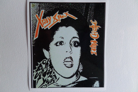XRAYSPEX large PUNK VINYL STICKER - Savage Amusement