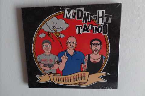 MIDNIGHT TATTOO trouble bound CD digipak - Oi! on Contra - Savage Amusement