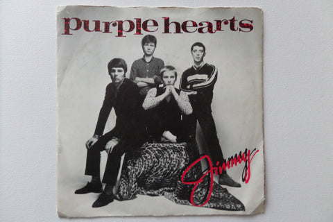 "PURPLE HEARTS jimmy 7"" VG G+ - Savage Amusement"