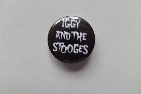 IGGY & THE STOOGES punk badge - Savage Amusement