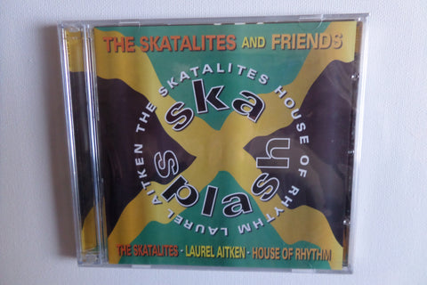 SKATALITES & FRIENDS ska splash DOUBLE CD - Savage Amusement