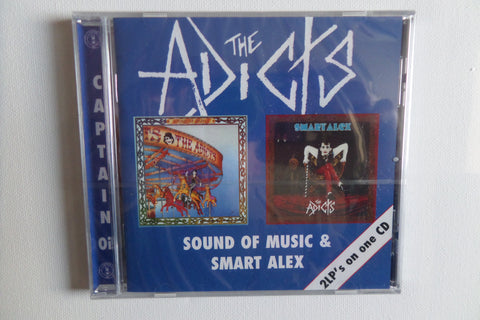 THE ADICTS sound of music / smart alex CD (Captain Oi!) - Savage Amusement