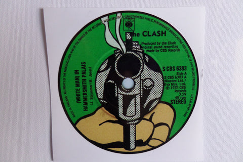 THE CLASH white man in hammersmith palais large vinyl STICKER - Savage Amusement
