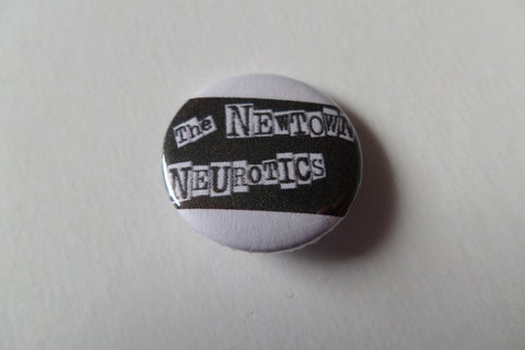 NEWTOWN NEUROTICS logo  punk badge - Savage Amusement