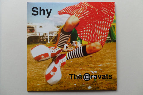 "THE CRAVATS shy 7""  (new single!) - Savage Amusement"