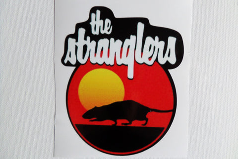 THE STRANGLERS rat/moon LARGE VINYL STICKER - Savage Amusement