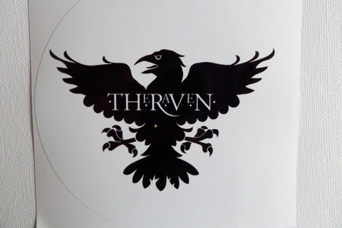 THE STRANGLERS the raven LARGE VINYL STICKER - Savage Amusement
