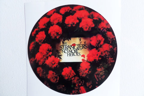 THE STRANGLERS no more heroes LARGE VINYL STICKER - Savage Amusement