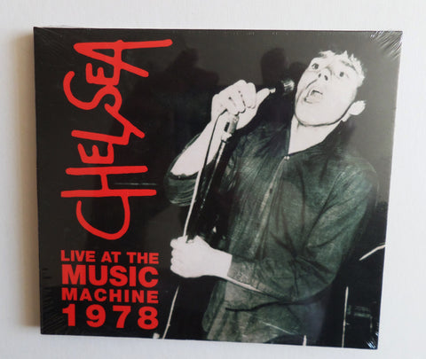CHELSEA live at the music machine 1978 CD digipak